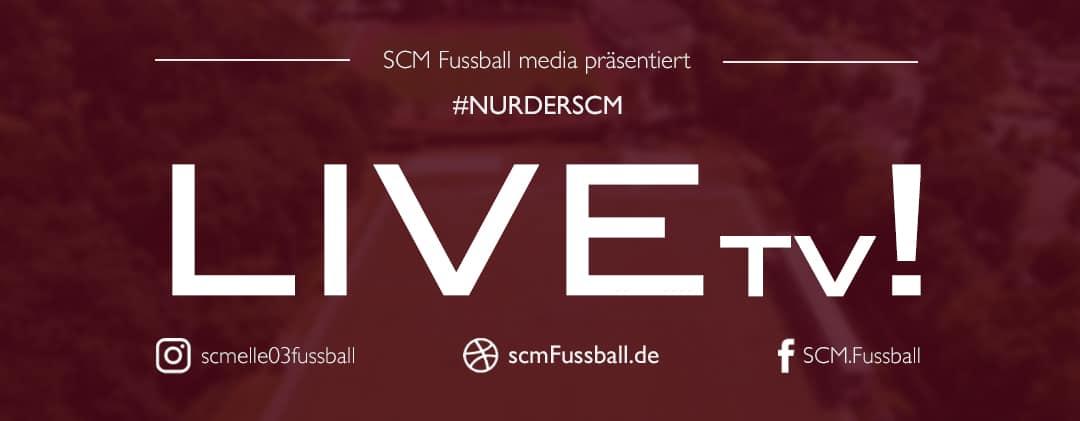 Hier geht's zur Liveübertragung SC Melle 03 Fussball